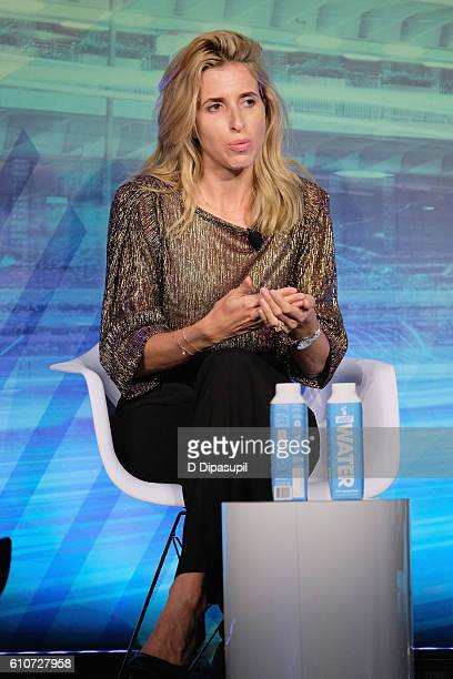 Co-Founder & CEO Birchbox Katia Beauchamp speaks at the The Third Screen: Innovating Retail for a Changing Consumer panel at Liberty Theater during...
