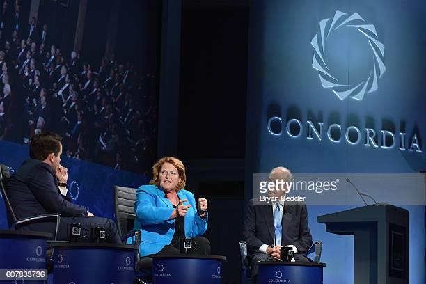 CoFounder Chairman CEO Concordia Matthew A Swift North Dakota Senator Heidi Heitkamp and Former Majority Leader United States Senate US Special Envoy...