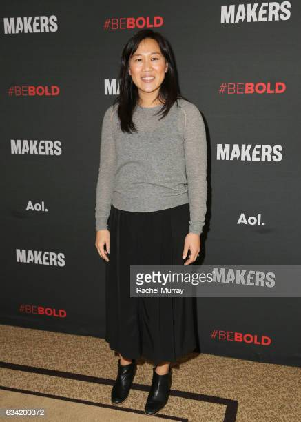 CoFounder Chan Zuckerberg Initiative CEO The Primary School Priscilla Chan attends The 2017 MAKERS Conference Day 2 at Terranea Resort on February 7...
