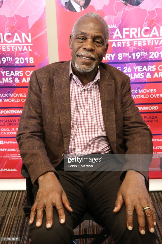 Co-Founder Danny Glover attends 26th Annual Pan African Film Festival Opening Day Press Conference at Baldwin Hills Crenshaw Plaza on February 8, 2018 in Los Angeles, California.