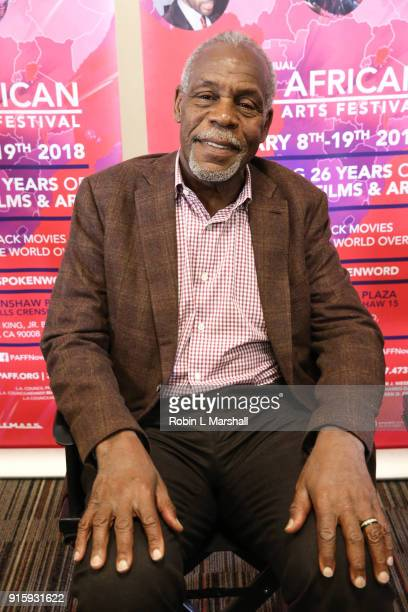 CoFounder Danny Glover attends 26th Annual Pan African Film Festival Opening Day Press Conference at Baldwin Hills Crenshaw Plaza on February 8 2018...