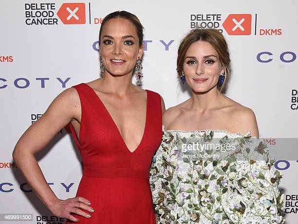 Cofounder Delete Blood Cancer Katharina Harf and Olivia Palermo attend the 9th Annual Delete Blood Cancer Gala on April 16 2015 in New York City