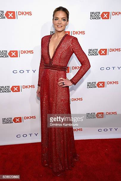 Cofounder DKMS Katharina Harf attends the 10th Annual Delete Blood Cancer DKMS Gala at Cipriani Wall Street on May 5 2016 in New York City