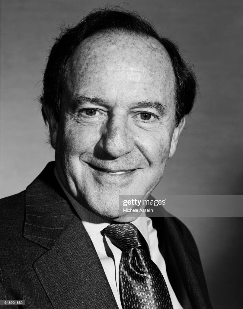 Mortimer Zuckerman, Portrait Session, October 25, 2004