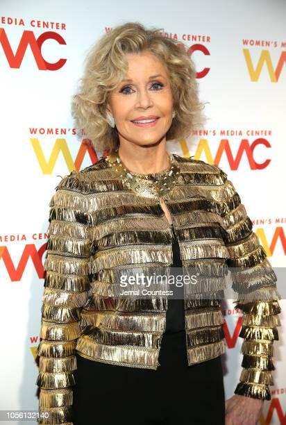 CoFounder Jane Fonda attends the 2018 Women's Media Awards at Capitale on November 1 2018 in New York City