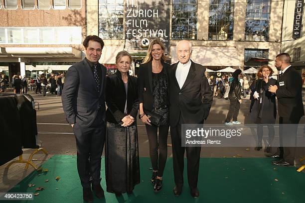 ZFF Cofounder Karl Spoerri Gabriele Scholz ZFF cofestival director Nadja Schildknecht and actor Armin MuellerStahl attend the Lifetime Achievement...