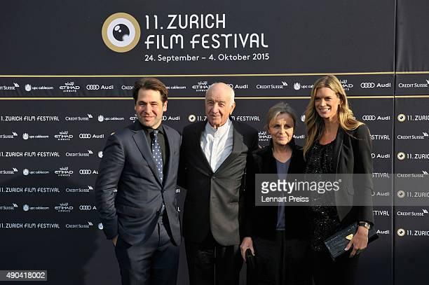 ZFF Cofounder Karl Spoerriactor Armin MuellerStahl Gabriele Scholz and ZFF cofestival director Nadja Schildknecht attend the Lifetime Achievement...
