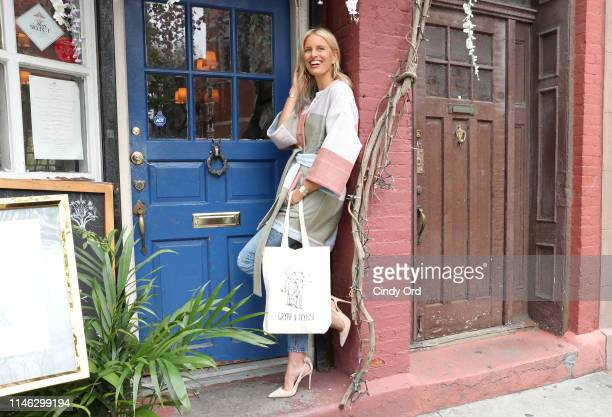 Cofounder Karolina Kurkova attends the Gryph IvyRose Launch Event at Pinto Garden on May 01 2019 in New York City