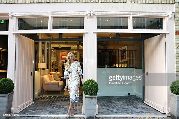 CoFounder Lauren Santo Domingo attends the M'oda 'Operandi launch on September 12 2014 in London England