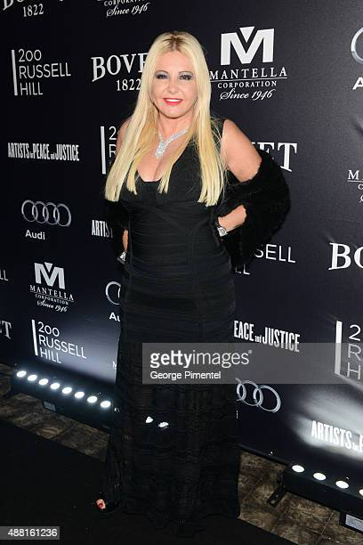 Cofounder of AMBI Pictures Monika Bacardi attends the Artists for Peace and Justice festival gala during the 2015 Toronto International Film Festival...