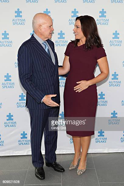 Co-Founder of Autism Speaks Bob Wright and journalist Erica Hill attend Autism Speaks: World Focus on Autism 2016 on September 21, 2016 in New York...