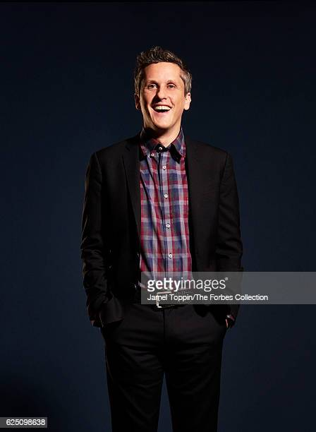 Cofounder of Box, Aaron Levie is photographed for Forbes Magazine in December 2015 in New York City. PUBLISHED IMAGE. CREDIT MUST READ: Jamel...