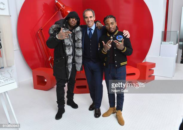 CoFounder of Cash Money Records and rapper Birdman Republic Records cofounders Monte Lipman and rapper Jacquees attend Republic Records Celebrates...