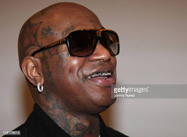 Cofounder of Cash Money records recording artist and entrepreneur Birdman attends the Cash Money Content celebration at the Chelsea Art Museum on May...
