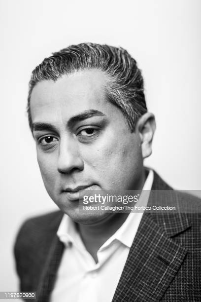Cofounder of Clearlake Capital Group Behdad Eghbali is photographed for Forbes Magazine on October 17 2019 in Santa Monica California PUBLISHED IMAGE...