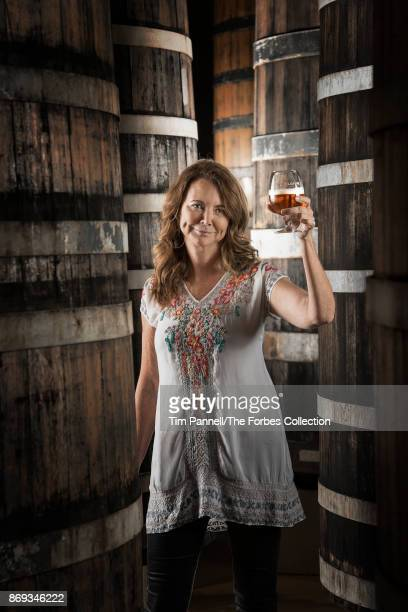 Cofounder of Colorado's craft brewery New Belgium Kim Jordan is photographed for Forbes Magazine on May 22 2017 in Fort Collins Colorado PUBLISHED...