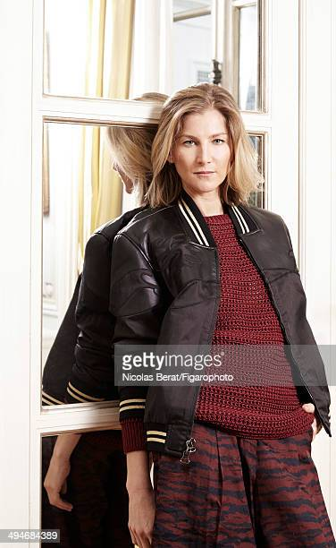 108636002 Cofounder of Ever Consulting and editor Elizabeth Von Guttman is photographed for Madame Figaro on November 29 2013 in Paris France Jacket...