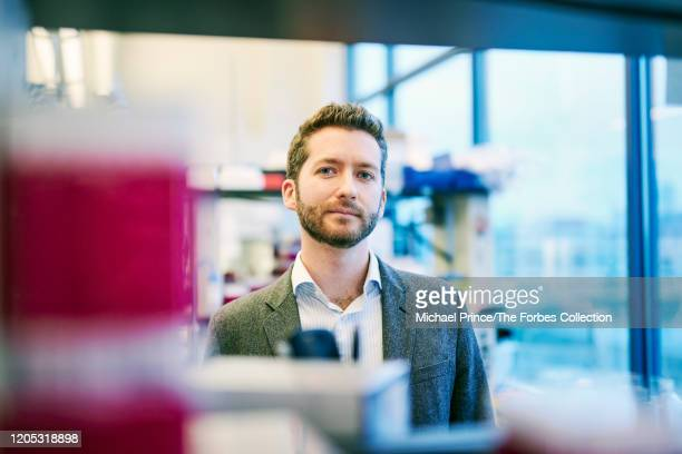 Cofounder of Finch Therapeutics Mark Smith is photographed for Forbes Magazine on November 22 2019 in Somerville Massachusetts PUBLISHED IMAGE CREDIT...
