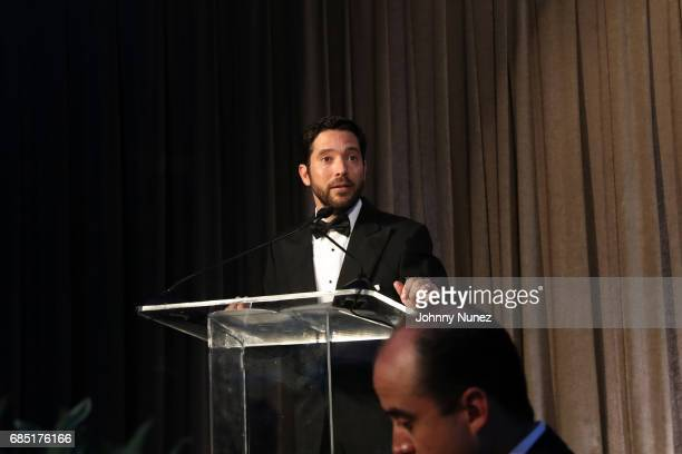 CoFounder of Glasswing Diego de Sola appears onstage during the Glasswing International 10th Anniversary Gala at Tribeca Rooftop on May 18 2017 in...