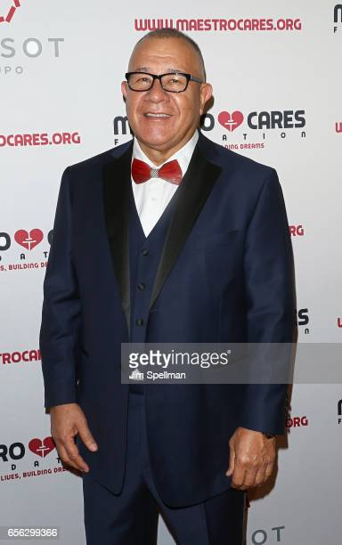 CoFounder of Maestro Cares foundation Henry Cardenas attend the Maestro Cares Foundation's Fourth Annual Changing Lives/Building Dreams Gala at...