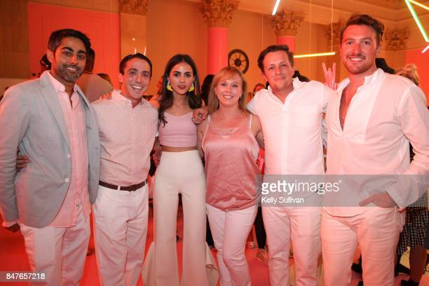 CoFounder of Museum of Ice Cream Manish Vora Bobby Nahill Founder and Creative Director of Museum of Ice Cream Maryellis Bunn Emma Monk Dustin Audet...