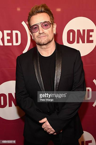 CoFounder of ONE and singer Bono attends ONE And 's It Always Seems Impossible Until It Is Done 10th anniversary celebration at Carnegie Hall on...