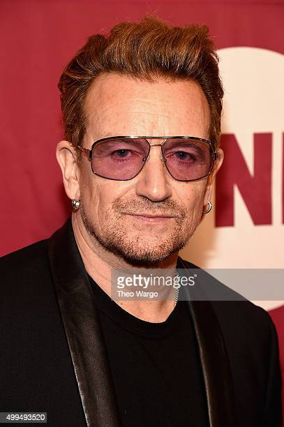 CoFounder of ONE and singer Bono attends ONE And 's 'It Always Seems Impossible Until It Is Done' 10th anniversary celebration at Carnegie Hall on...