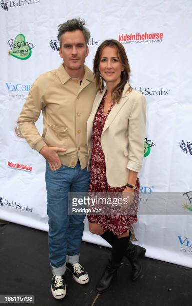 CoFounder of Pregnancy Awareness Month Anna Getty and actor Balthazar Getty attend the Pregnancy Awareness Month 2013 KickOff Event 'Celebrating...