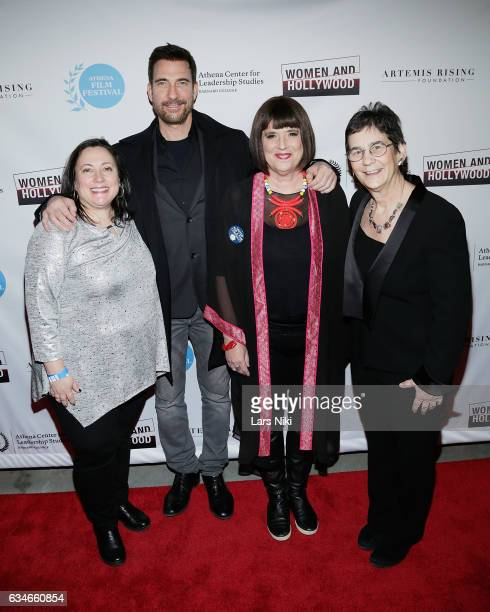 CoFounder of the Athena Film Festival Melissa Silverstein Actor Dylan McDermott Woman's Activist and Playwright Eve Ensler and CoFounder of the...