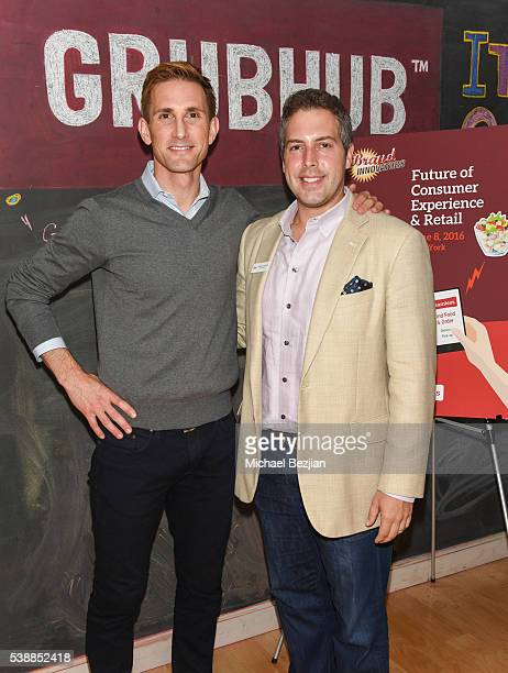 CoFounder of The Honest Company Christopher Gavigan and CEO of LiveWorld Peter Friedman attends Brand Innovators Future of Consumer Experience Retail...