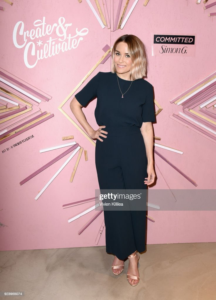 Co-Founder of The Little Market, Lauren Conrad at the Create & Cultivate Los Angeles conference in the Simon G. Jewelry Green Room on February 24, 2018 in Los Angeles, California.