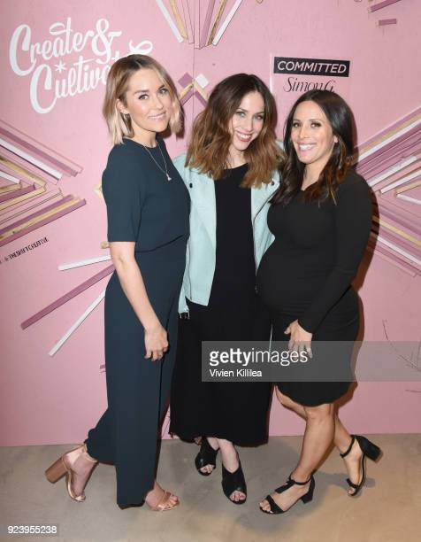 CoFounder of The Little Market Lauren Conrad Create Cultivate Founder and CEO Jaclyn Johnson and CoFounder of The Little Market Hannah Skvarla at the...