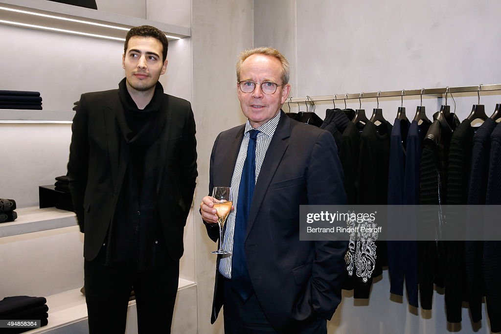 Opening Of The Collection 'Exemplaire x Nicolas Ouchenir' In Paris