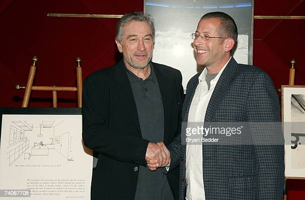 Cofounder of the Tribeca Film Festival Robert De Niro presents the cofounders award for best narrative feature to David Volach for 'My Father My...