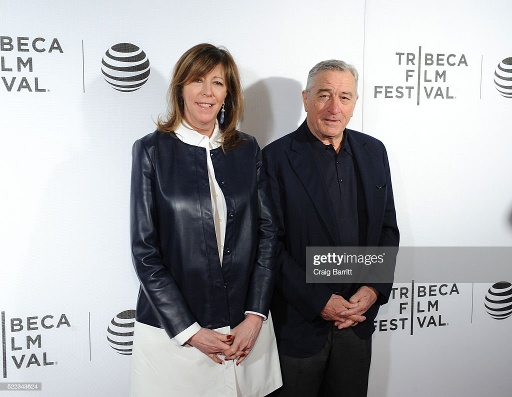 Co-Founder of Tribeca Film Festival Jane Rosenthal and Actor Robert De Niro attend 'Equals' Red Carpet Premiere Night during Tribeca Film Festival at BMCC John Zuccotti Theater on April 18, 2016 in New York City.