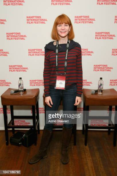 Cofounder of Vanishing Point Media Annie Lukowski attends Winick Talks A New Reality at Rowdy Hall during Hamptons International Film Festival 2018...