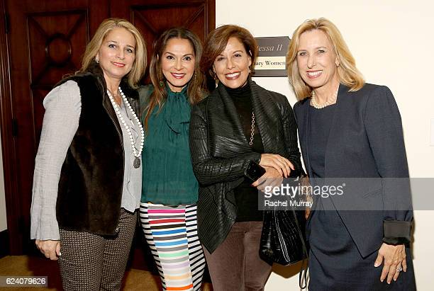 CoFounder of Visionary Women Angella Nazarian attends the 'Bringing Men Into The Conversation On The Evolving Role of Women Television And The Future...