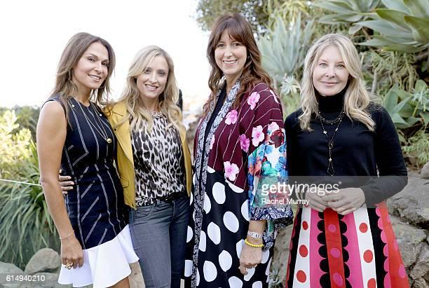 CoFounder of Visionary Women Angella Nazarian Visionary Women's Sarah Milken Lauren Taschen and Lynn Rosenthal attend Visionary Women Presents Women...