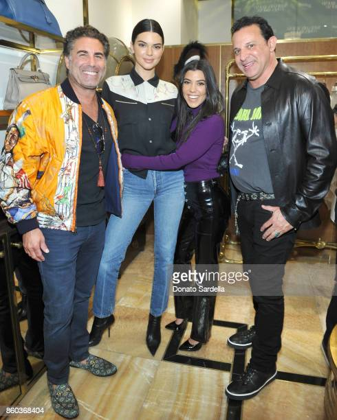 Cofounder of What Goes Around Comes Around Gerard Maione Kendall Jenner Kourtney Kardashian and cofounder of What Goes Around Comes Around Seth...