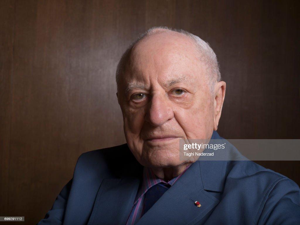 Pierre Berge, Grazia France, July 8, 2016