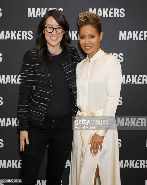 CEO CoFounder Project Include Ellen Pao and Jada Pinkett Smith attend The 2019 MAKERS Conference at Monarch Beach Resort on February 7 2019 in Dana...