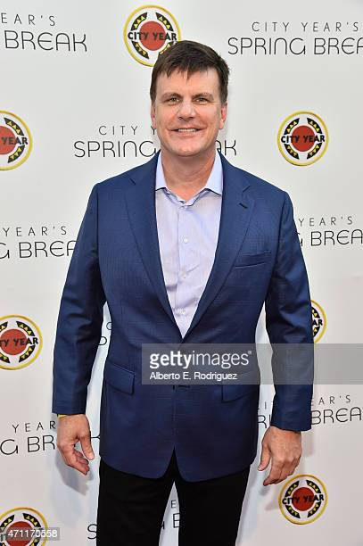 CoFounder RealD Inc Michael V Lewis attends City Year Los Angeles Spring Break at Sony Studios on April 25 2015 in Los Angeles California