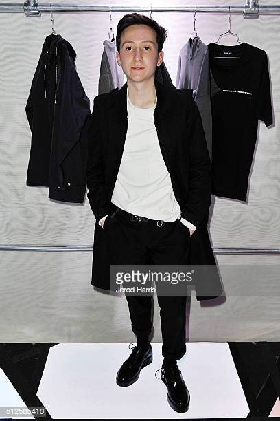 FAUX cofounder Ryan Friedlinghaus Jr attends the PAS DE FAUX fashion installation at the EPOCH Creative Exhibit on February 26 2016 in Los Angeles...