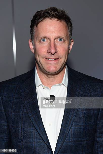 CoFounder Shea Communications Tailgating Institute Richard Shea poses at the Gaming the Market panel during Advertising Week 2015 AWXII at the ADARA...