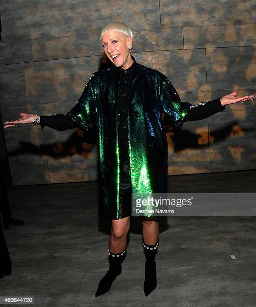 Cofounder Style Director Jan Arnold attends the Libertine fashion show during MercedesBenz Fashion Week Fall 2015 at The Pavilion at Lincoln Center...
