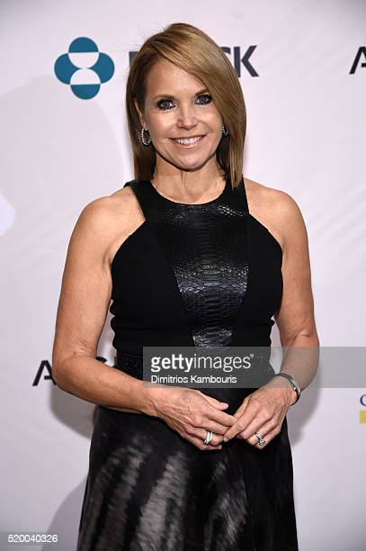 CoFounder SU2C Council of Founders and Advisors Katie Couric attends Stand Up To Cancer's New York Standing Room Only presented by Entertainment...