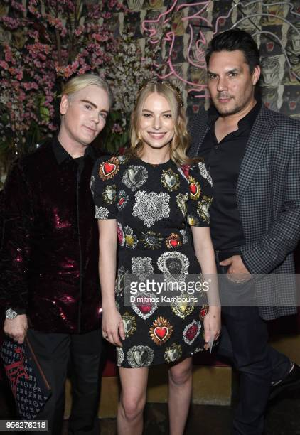 CoFounder Too Faced Jerrod Blandino Actress Danielle Lauder and Founder Too Faced Jeremy Johnson attend an intimate dinner hosted by The Business of...