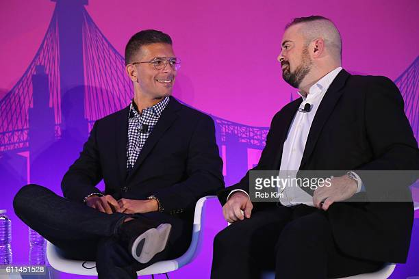 Cofounder Undertone Eric Franchi and President CEO Nucleus Marketing Solutions Seth Rogin speak on The CrossScreen Programmatic Dialogue panel on the...