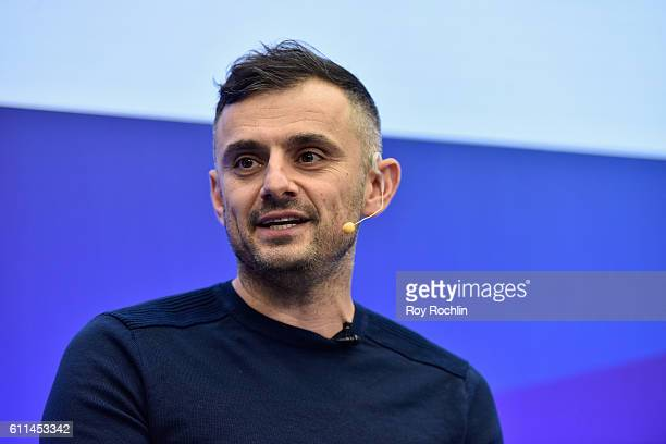 CEO CoFounder Vaynermedia Gary Vaynerchuk speaks at the Brand U Event at Nasdaq MarketSite during 2016 Advertising Week New York on September 29 2016...