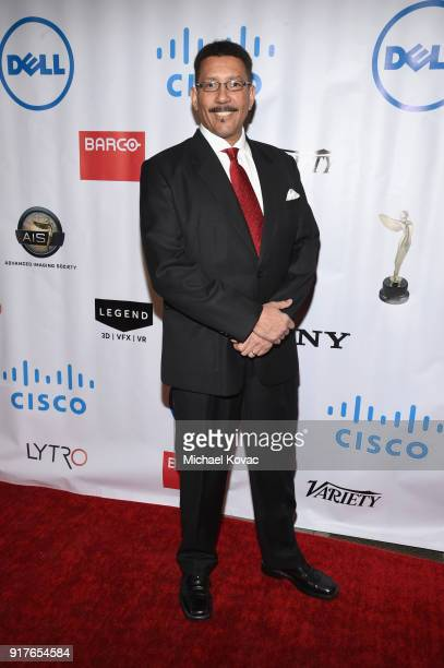 INVAR cofounder Vincent Edwards attends the Advanced Imaging Society 2018 Lumiere Awards presented by Dell and Cisco at Steven J Ross Theatre on...
